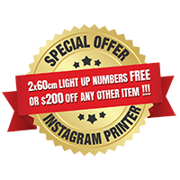 Epic Party Hire Instagram Printer special offer