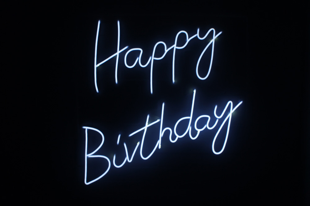 Epic Party Hire Neon LED Signs Happy Birthday