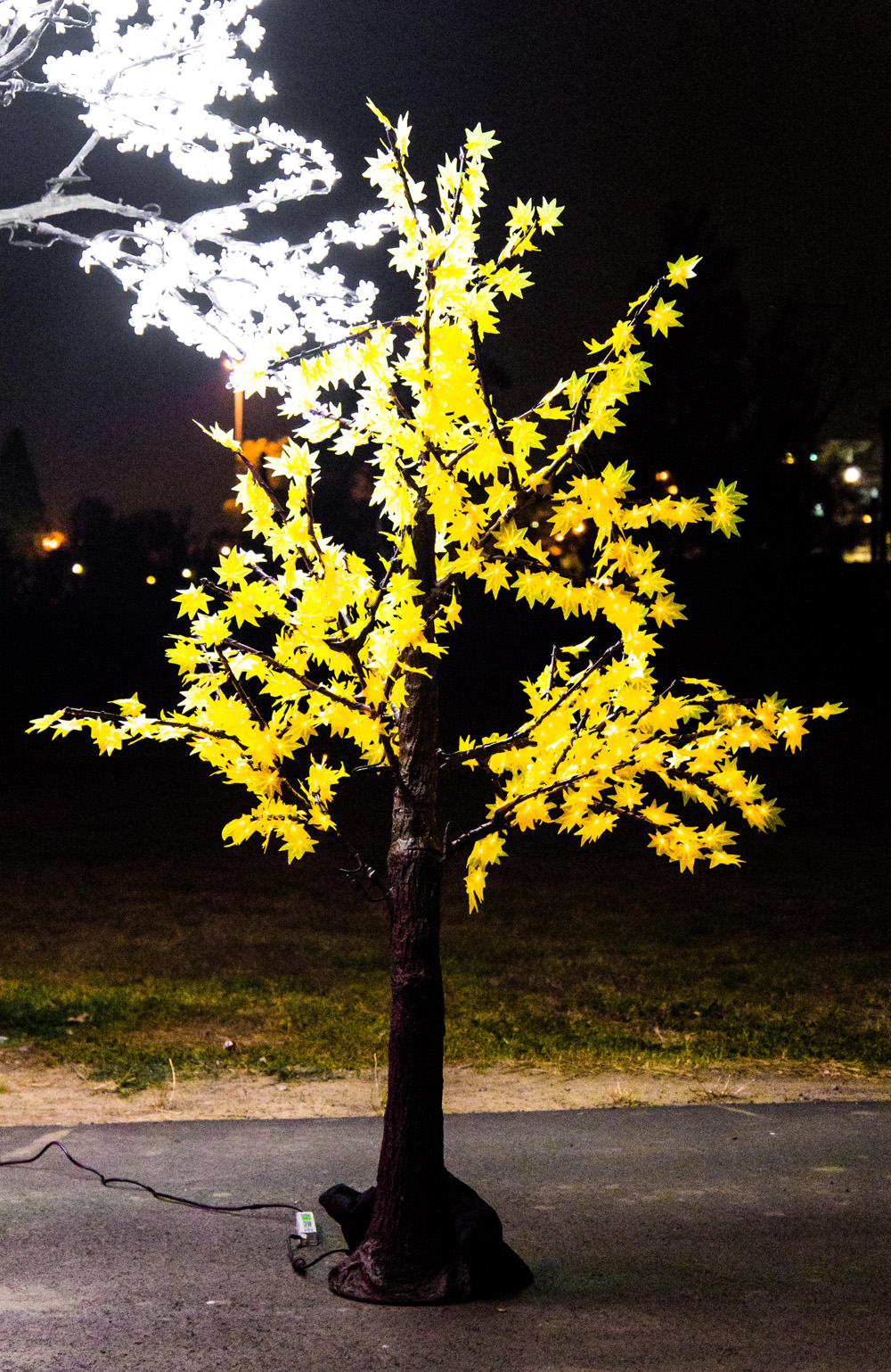 Epic Party Hire Neon LED Trees 2.8m