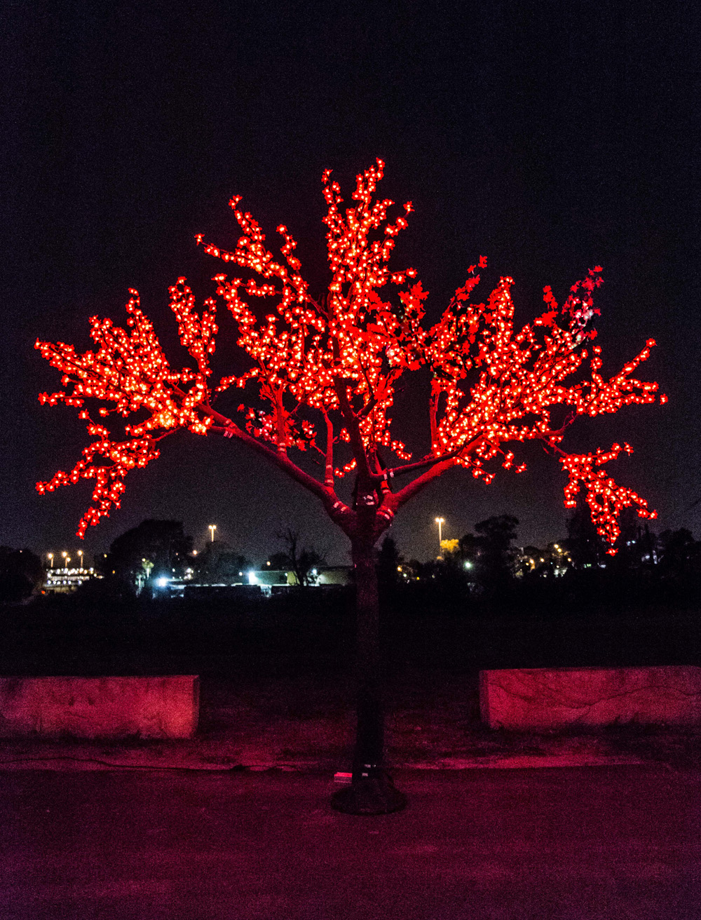 Epic Party Hire Neon LED Trees 3.5m