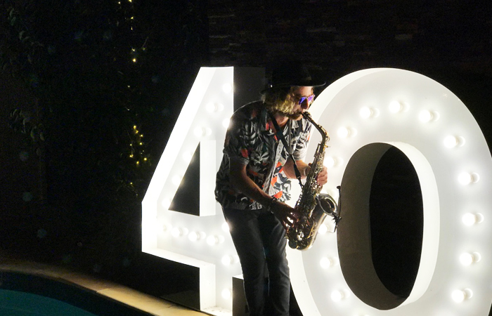 Epic Party Hire giant letters numbers 2 numbers
