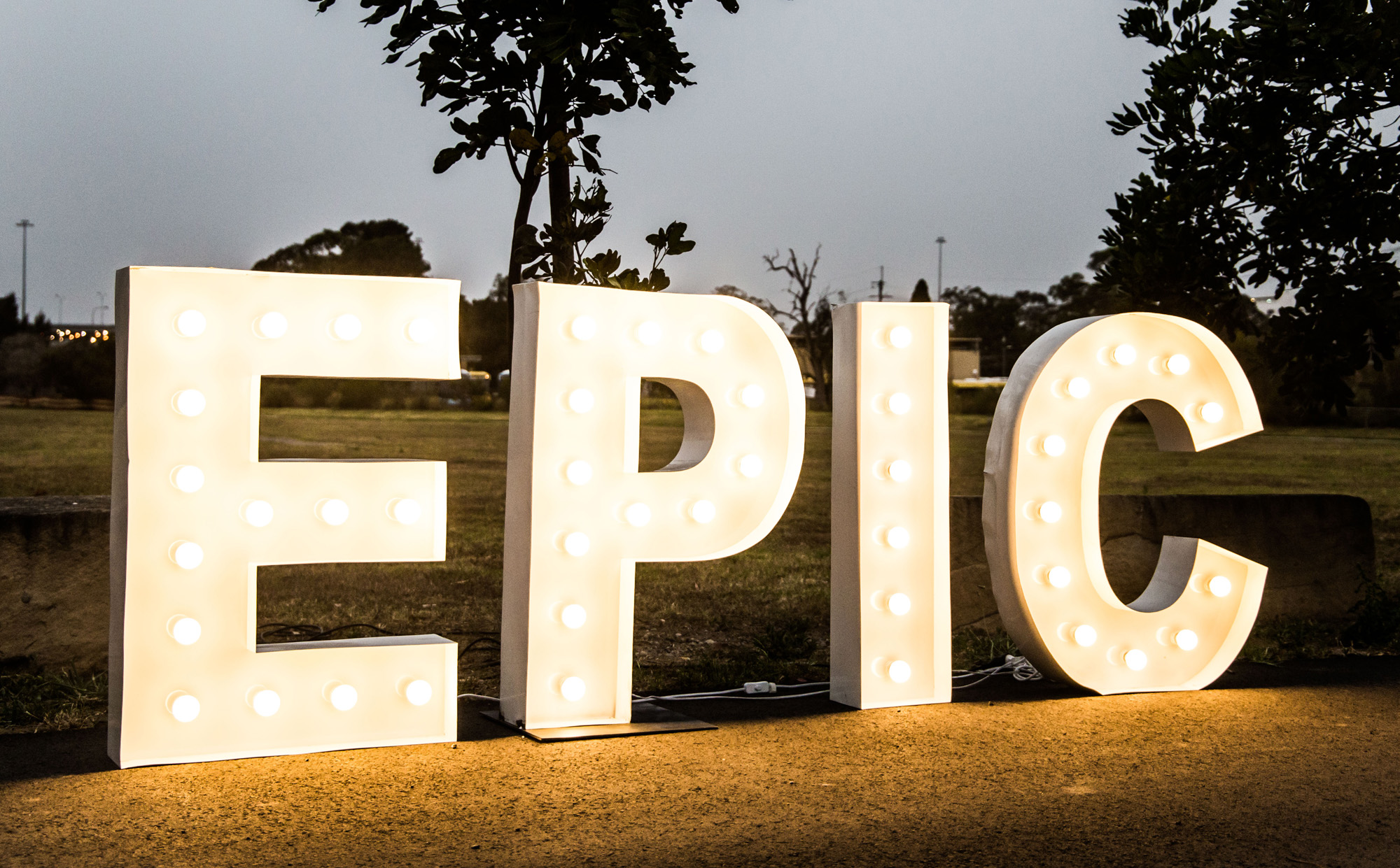 Epic Party Hire home slider